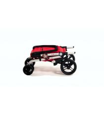Сумка-тележка Carlett хозяйственная на колесах 40 л сиреневая (450-3)
