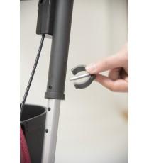 Сумка-тележка Carlett Comfort с сиденьем на колесах 29 л красная (800-6)